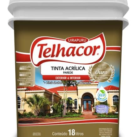 Tinta Acrílica Telhacor 18L
