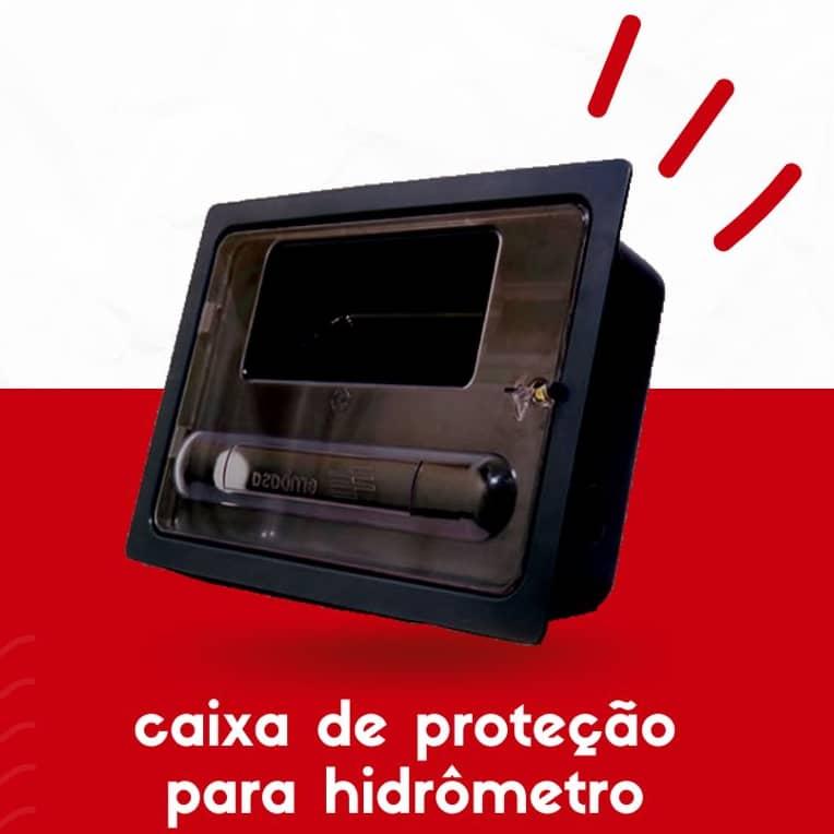 Caixa de proteção para hidrômetro